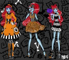 Madison Skellington Fashion Spread by PersephoneKat
