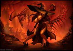 Dragon's Crown II Rise of the Fallen Bones by gulavisual