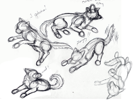 Rough Sketch - Poses 3 by Shaduma