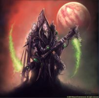 StarCraft - Dark Templar Zerg Hunter by SamwiseDidier