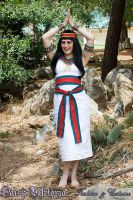 Egyptian Sheath Dress by DaisyViktoria