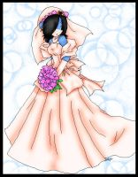 .:: Wedding dresss ::. by hedgie-girl