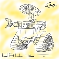 Wall-E by DivYes