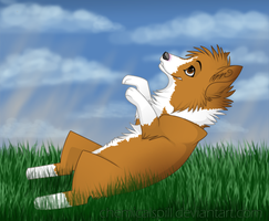 .belly rub pls by ChemicalSpill