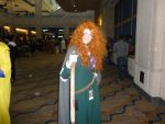 Metrocon 2013 cosplay Meridia (Brave) by VoiceofRob
