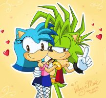 A special gift for my best friend by Domestic-hedgehog
