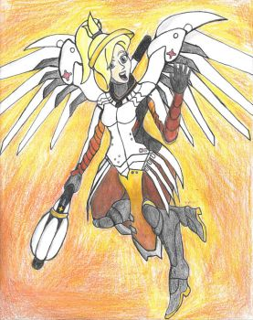 [Overwatch] Mercy by Ruffits