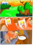 page 1 the adveture  starts by greendog345