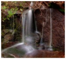 ladybower waterfall 5 by mzkate