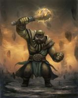 CHOW#329 orc shaman by pc-0