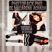Photopack Macarena Achaga by Heart-Attack-Png