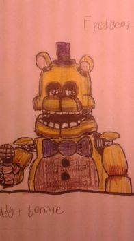 accurate fredbear by nightmare1981