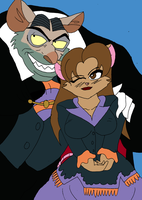 ::GIFT-Ali and Sir Ratigan:: by Wario-Girl