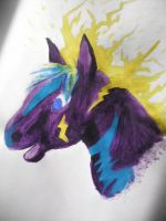 Prize: Electric Horse by DreamDrifter91