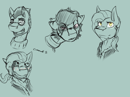 OC Expression stuff by ConmanWolf