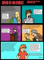 Saved by an Atheist (comic version) by ArtNGame215