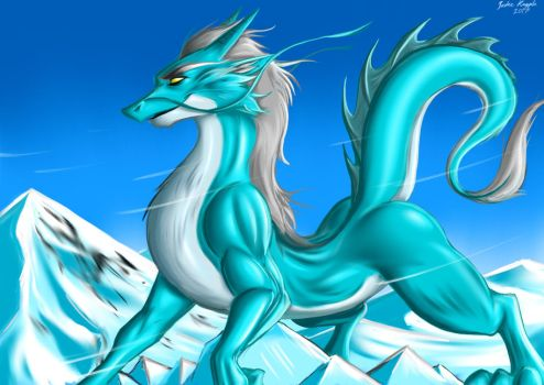 Ice Dragon by angrycontra