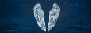 Coldplay Ghost Stories Facebook Cover by MikuuChaan