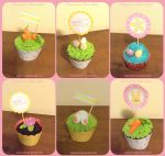Easter Cupcakes by macurris
