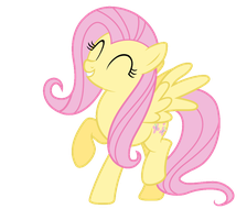 [PLEASE INSERT MUSIC HERE]Dancing Fluttershy by Vulthuryol00