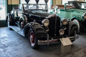 1934 Packard Eight Coupe Roadster by PLutonius
