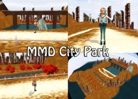 MMD City Park Stage Download by SachiShirakawa