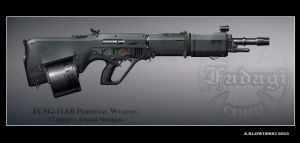 FCSG-11AB Personal Weapon by BlackDonner