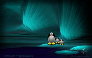 March Of The Penguins by PeterPawn