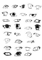 Draw Eyes by n1ninja