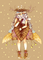 Leaf Fairy Adopt CLOSED by Shiranova