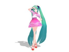 Tda Hatsune miku model ( limited download) by KaitoShoin