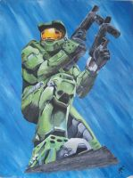 Master Chief by Hopeful-Wings