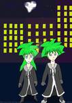 Dreams of Destiny OC -Maex and Mixae- Updated by MetalKnightStar