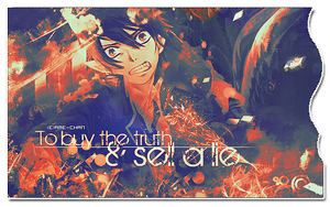 to buy the truth and sell a lie by ame-chan1995