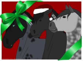 Happy Holidays from the Herd by alicesapphriehail