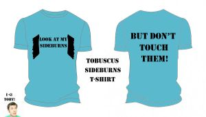 Tobuscus Sideburns Tshirt by HeartBucking
