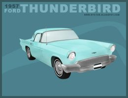 Ford Thunderbird by mobber