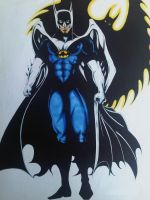 MY VERSION OF BATMAN COLOR by ARTofTROY