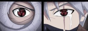 Naruto 605: Obito and kakashi ms by Kyuubii9