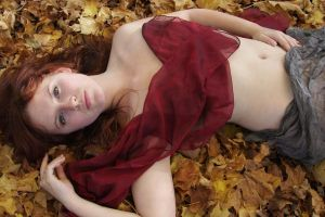 naked in the woods.. again by acier-papillon