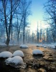 Ice-cold river by KariLiimatainen