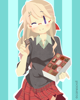 Happy Chocolate Day! by CaineScroll