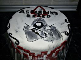 Assassin's Creed Cake  by Celldweller797