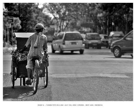 The last Pic of a becak driver by ragdollou812