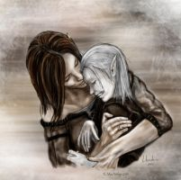 Mother and son by wanderer1812
