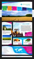 Agriculture Website by Elad-M