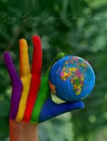 colorful touch for earth by glamz