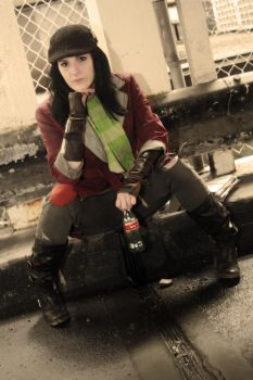 Fallout 4 - Piper Cosplay by AlliApocalips