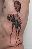 AT-AT like Dali by graynd