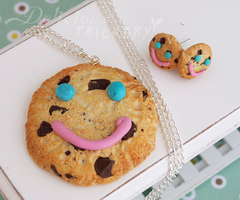 Tim Hortons Smile Cookie by DeliciousTrickery